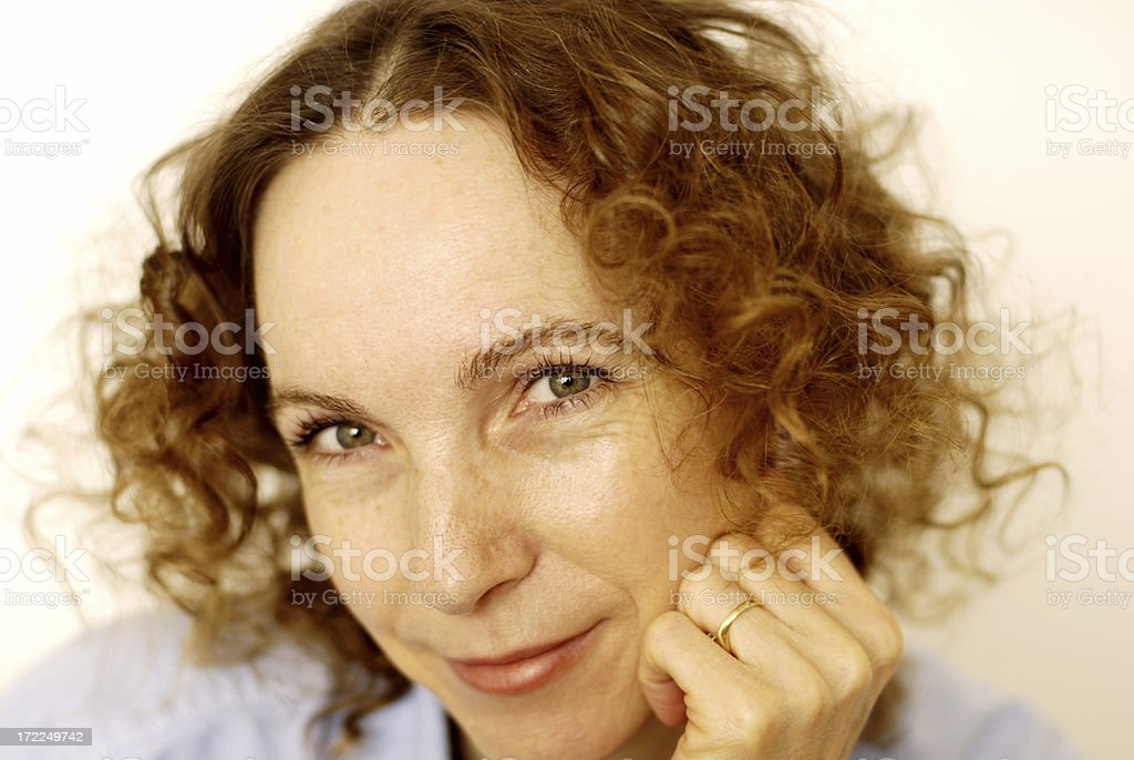 Loving Being 45 royalty-free stock photo
