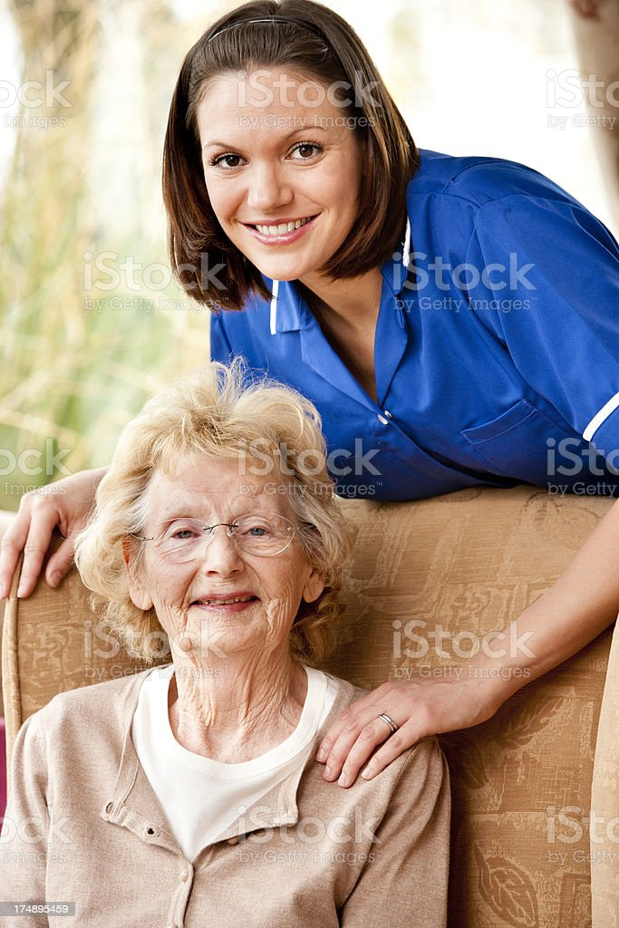 Loving care royalty-free stock photo