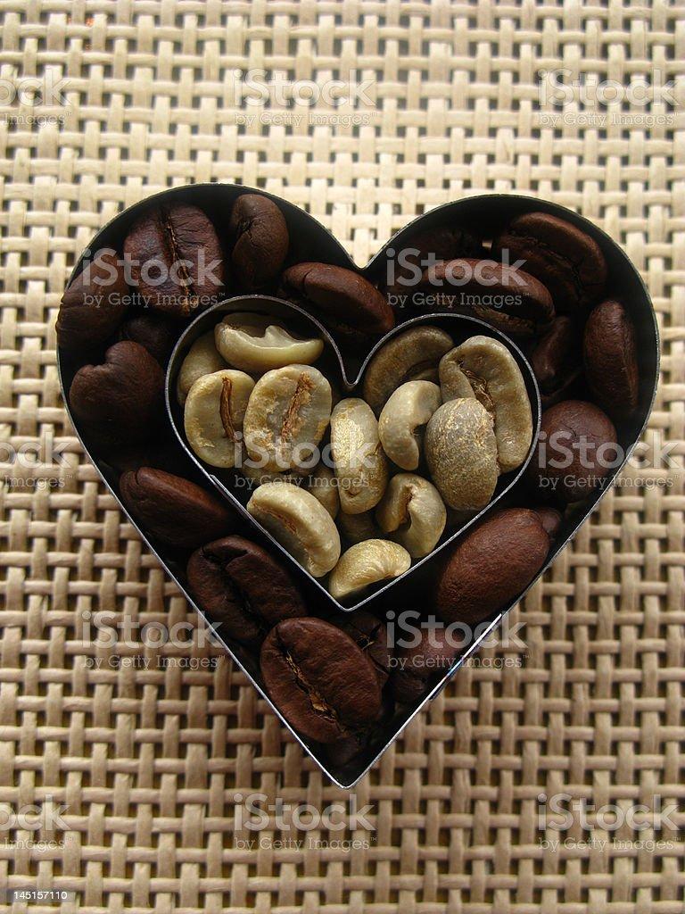 loving coffee royalty-free stock photo