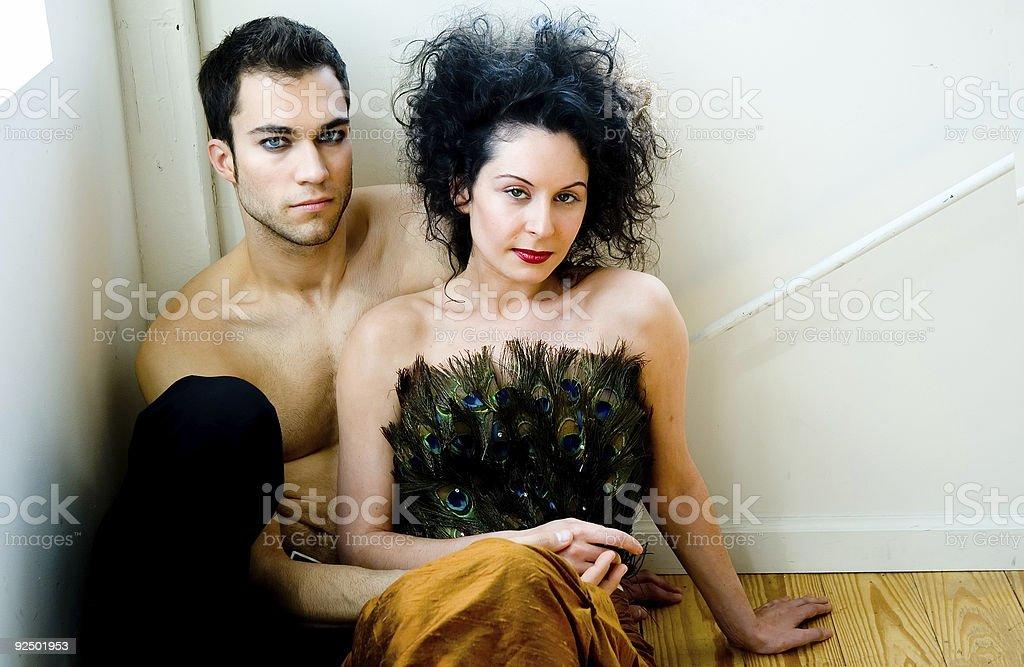 Loving Couple 2 royalty-free stock photo
