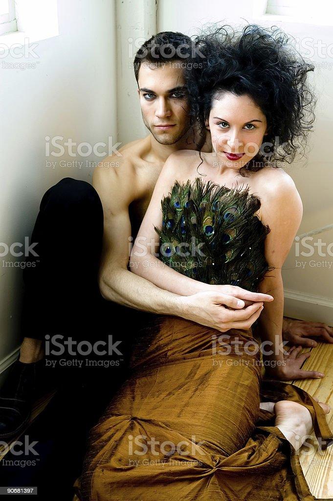 Loving Couple 4 royalty-free stock photo