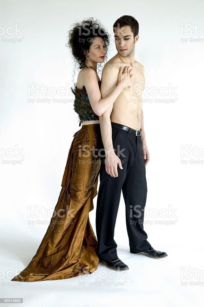 Loving Couple 7 royalty-free stock photo