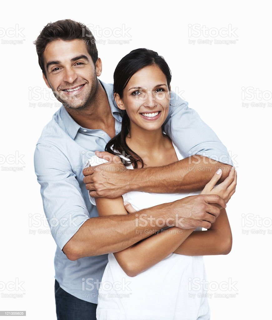 Loving couple stock photo