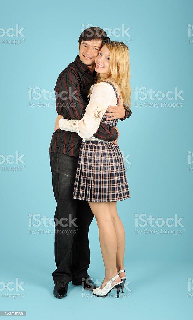 couple amoureux photo libre de droits