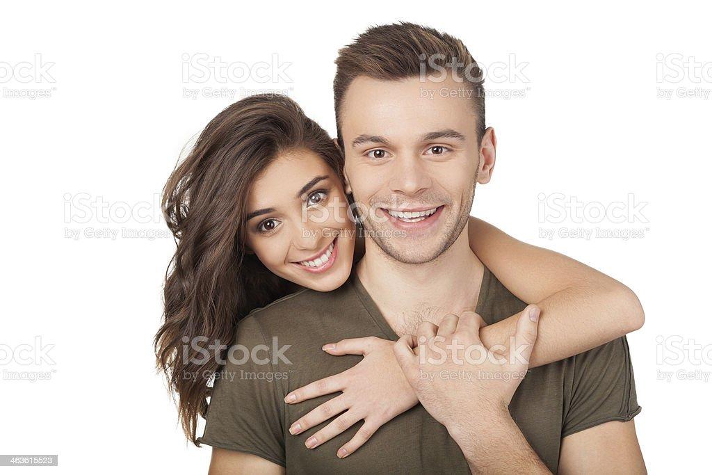 Loving couple. stock photo