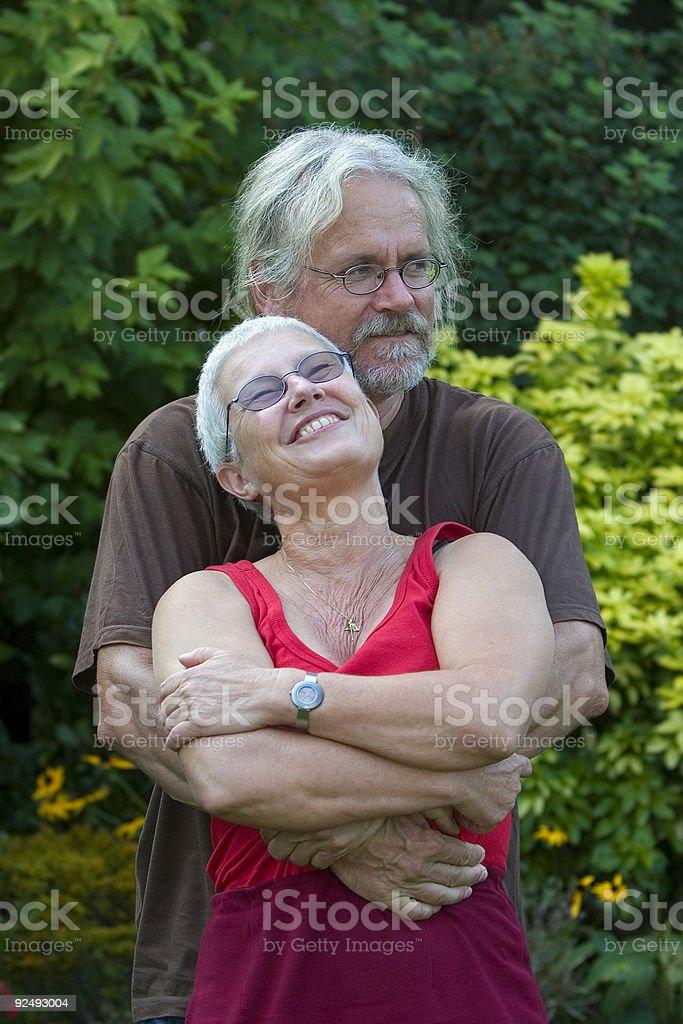 Loving couple royalty-free stock photo