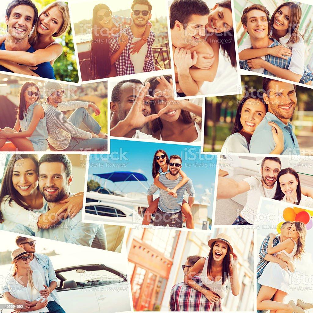 Loving couples. stock photo