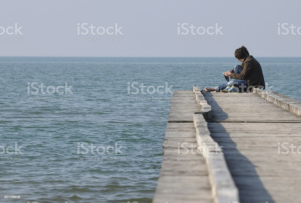 Loving edge stock photo