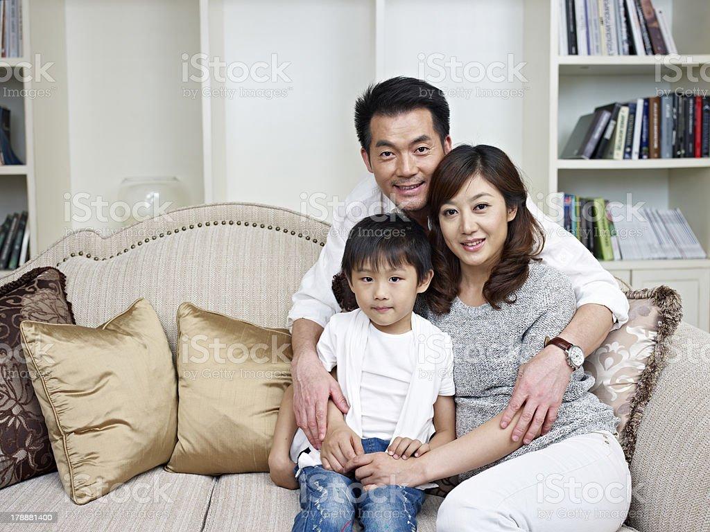 loving family royalty-free stock photo