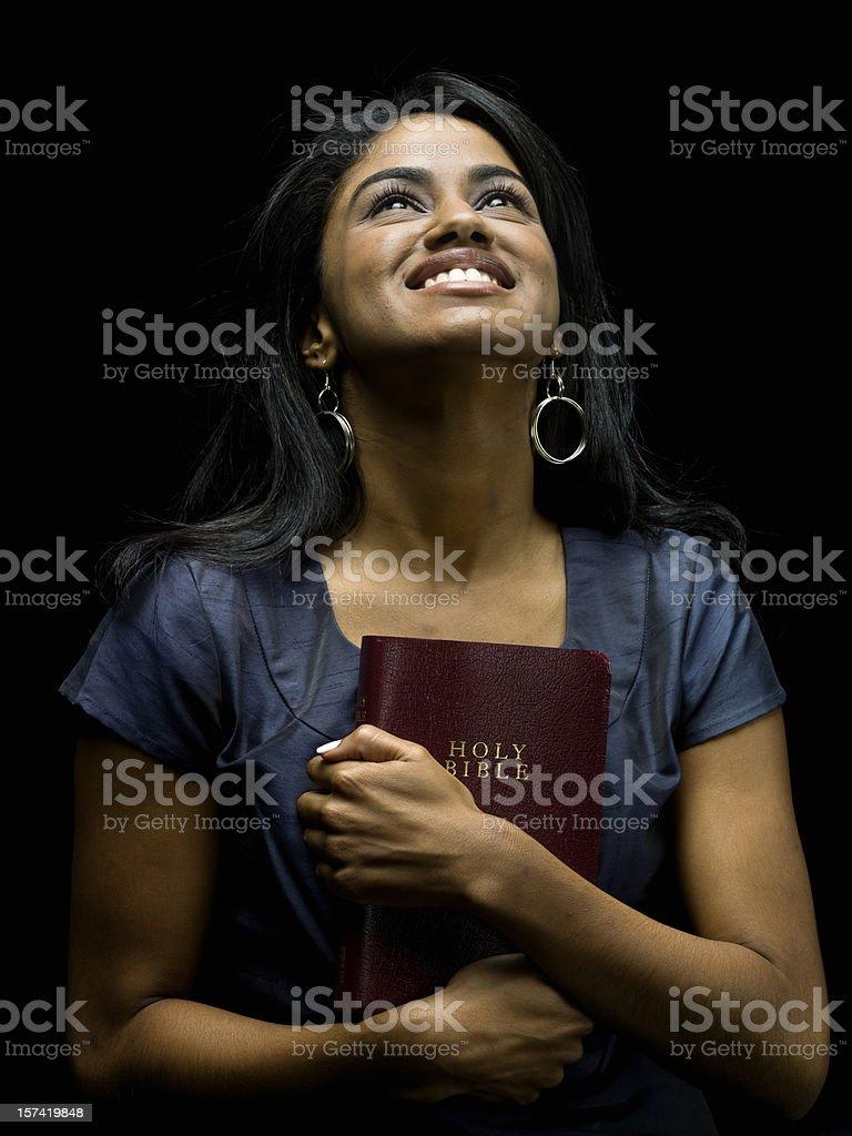 Loving god royalty-free stock photo