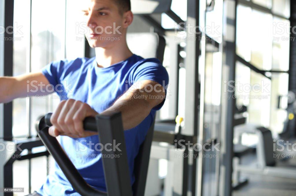 Loving gym stock photo