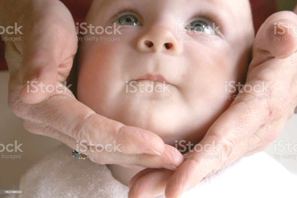 loving hands royalty-free stock photo