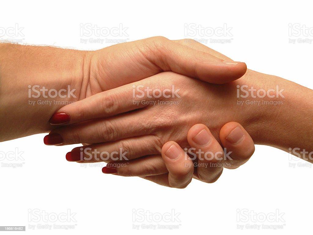 Loving Hands royalty-free stock photo