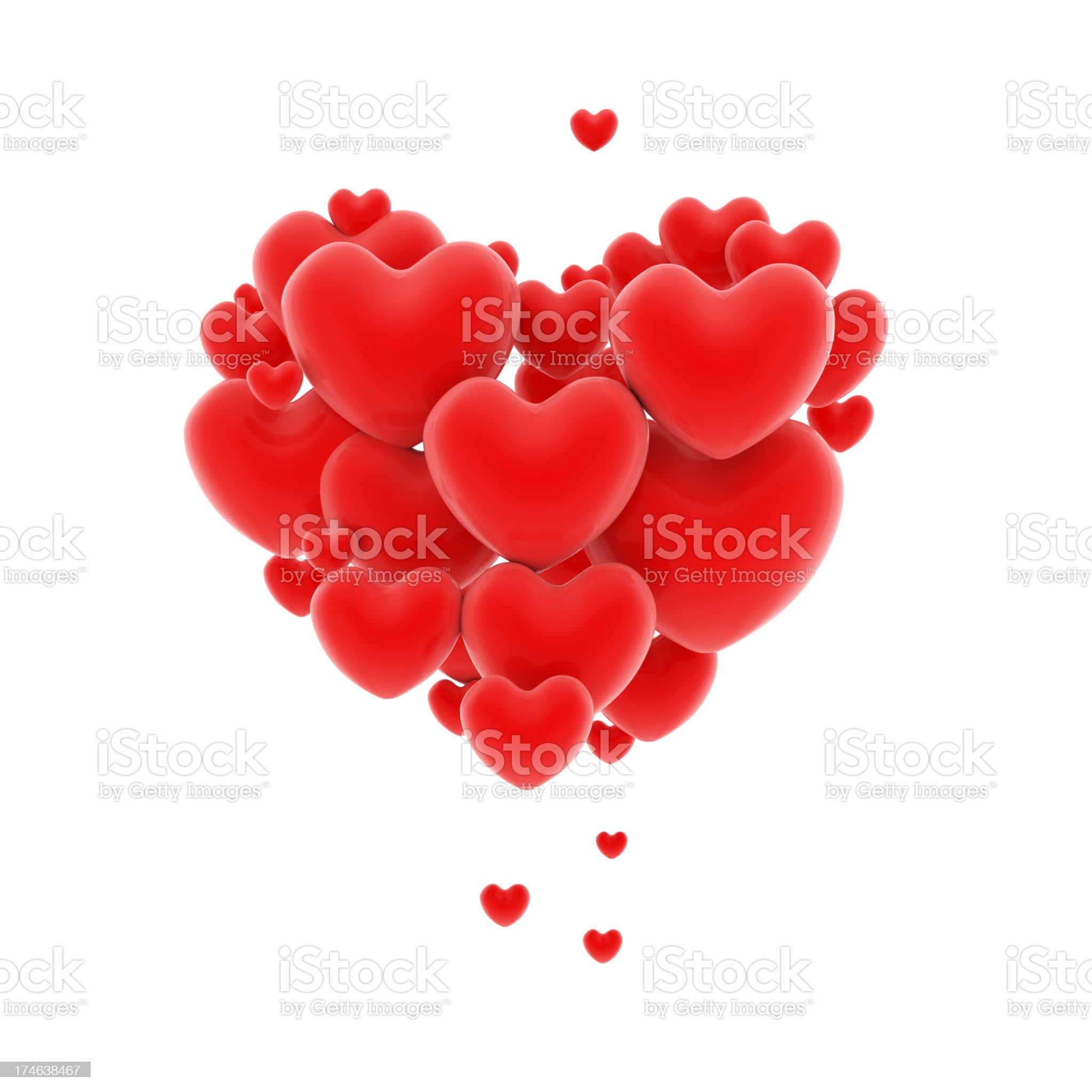 Loving Heart royalty-free stock photo