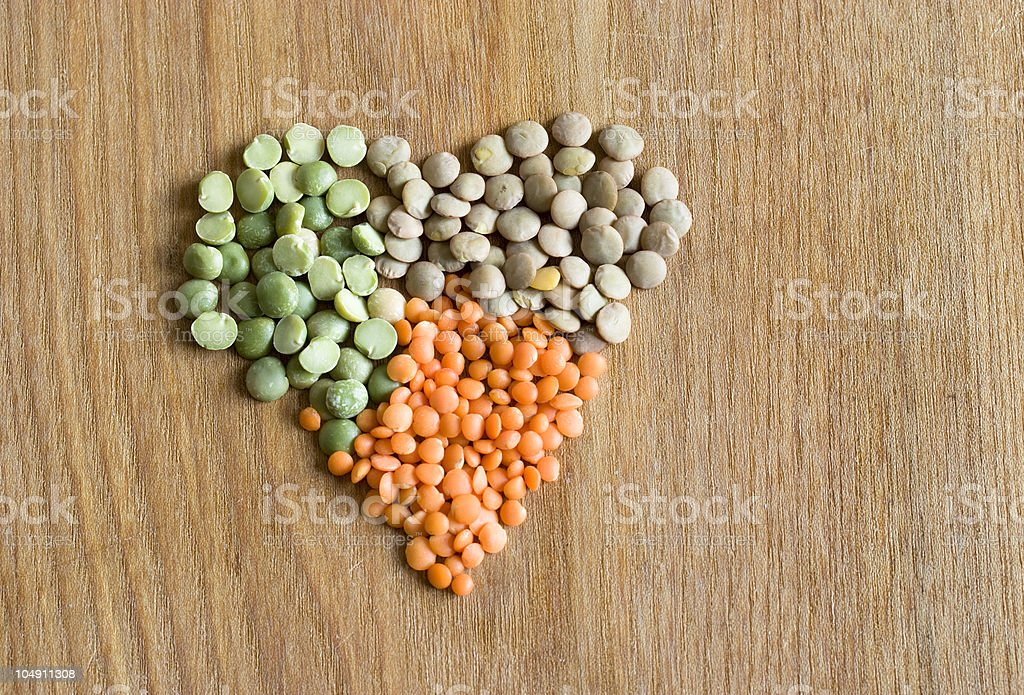 Loving legumes royalty-free stock photo
