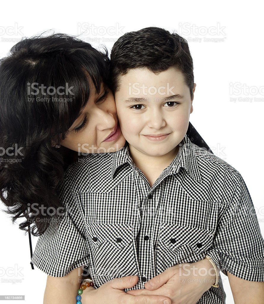 Loving mother royalty-free stock photo