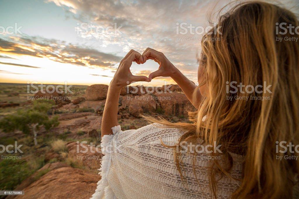 Loving nature stock photo