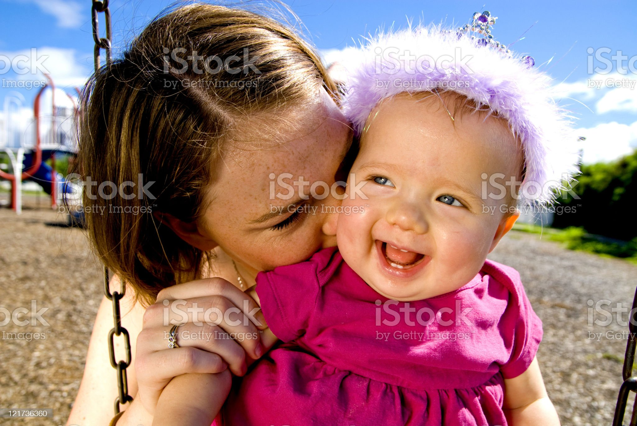 Loving Parent royalty-free stock photo