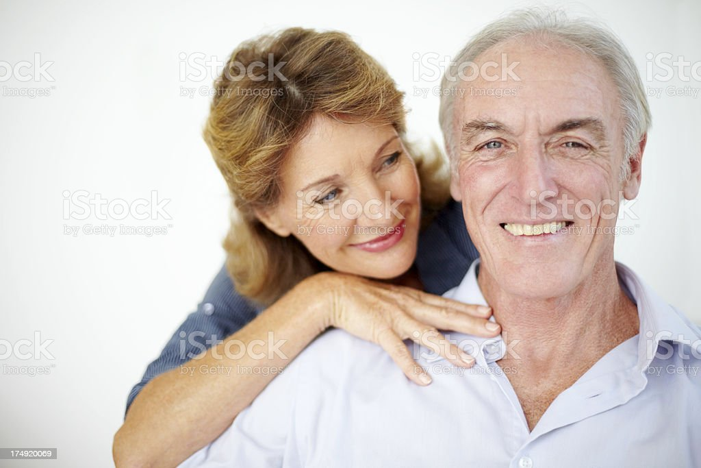 Loving that feeling of togetherness royalty-free stock photo