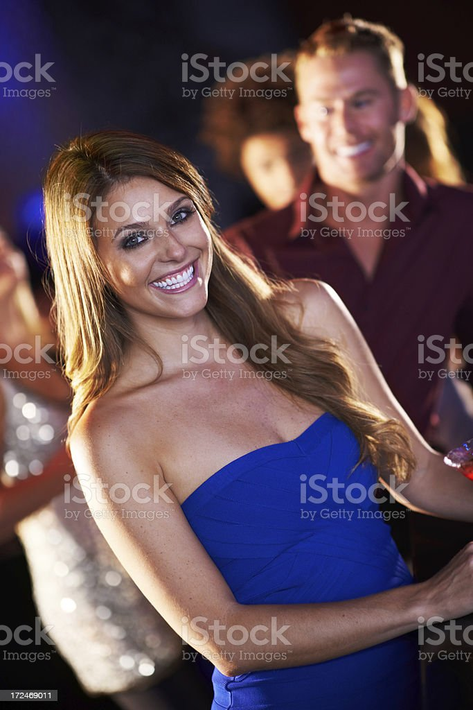 Loving the attention! royalty-free stock photo