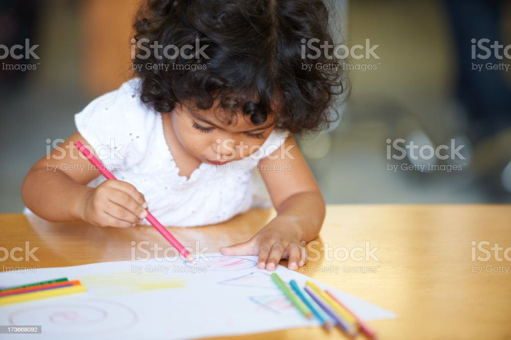 Loving the different colours royalty-free stock photo