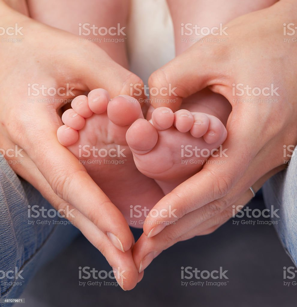 Loving the little things stock photo