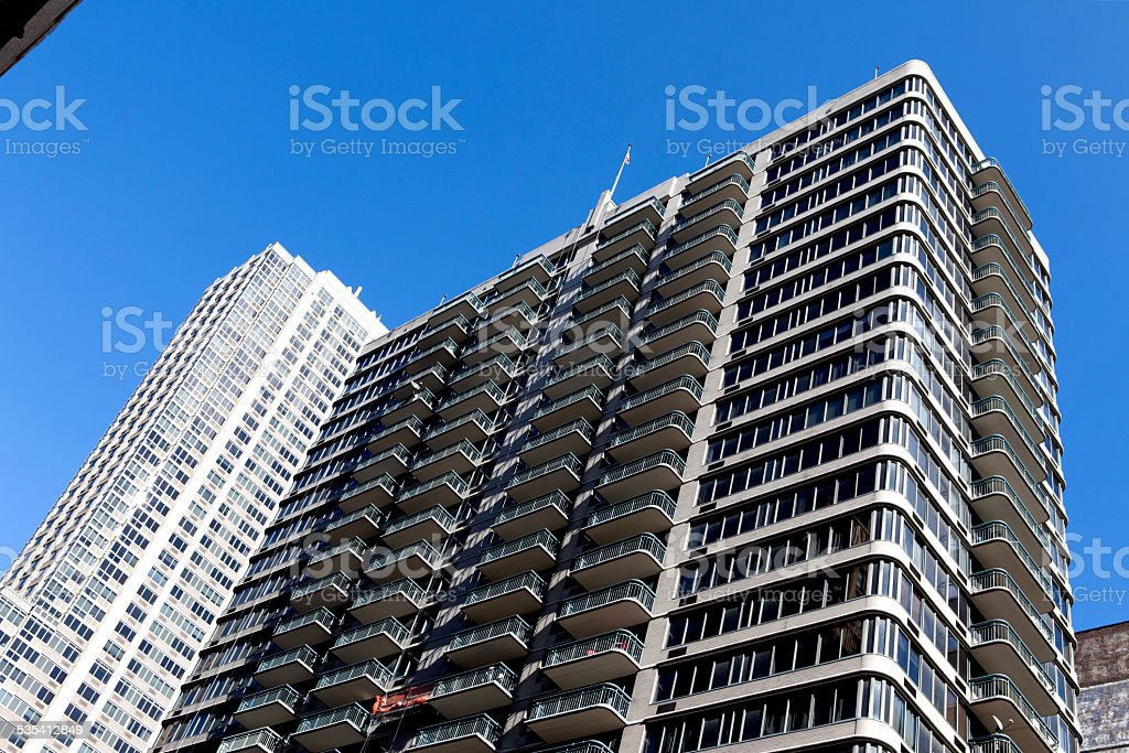 Low Angle Building stock photo