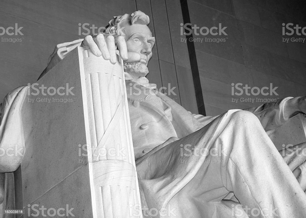 low angle Lincoln stock photo