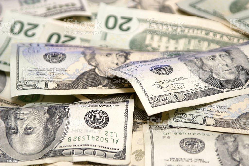low angle money royalty-free stock photo