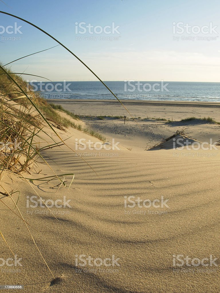 low angle view beach royalty-free stock photo