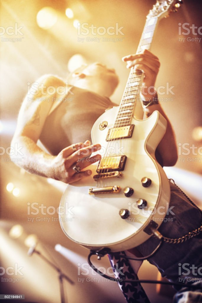 Played to perfection stock photo