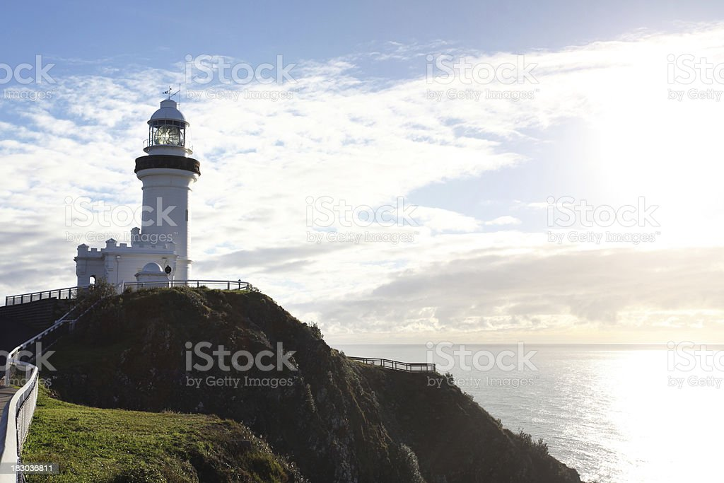 Low angle view of a lighthouse royalty-free stock photo