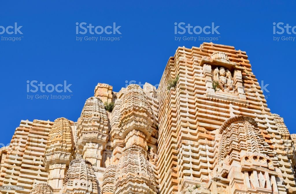 low angle view of temple exterior stock photo