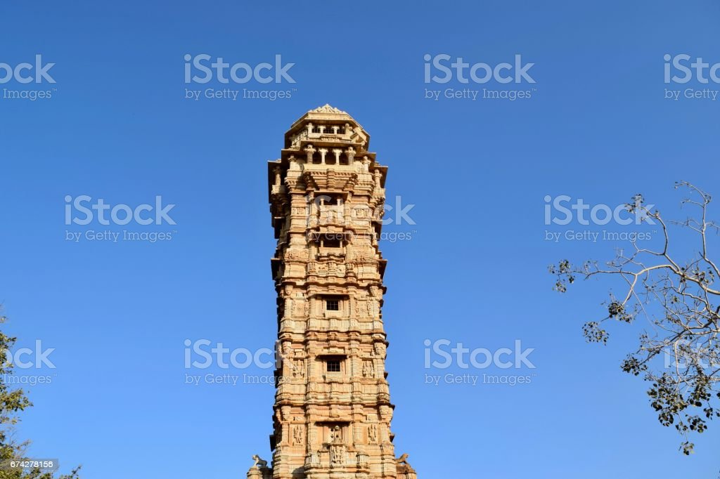 low angle view of tower of victory stock photo