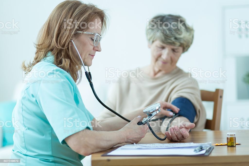 Low blood pressure stock photo