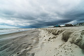 Low Clouds on the beach