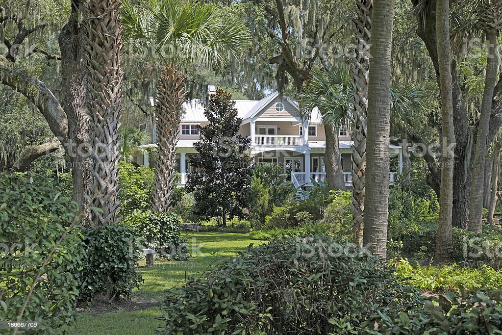 Low Country Home royalty-free stock photo