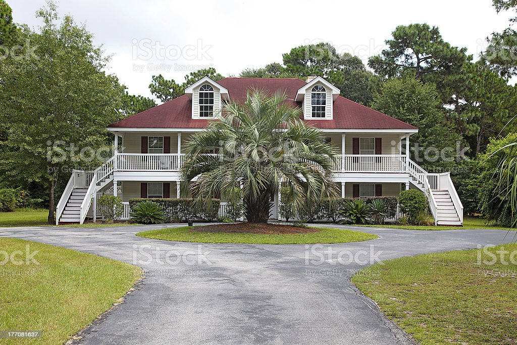 Low Country Residence royalty-free stock photo