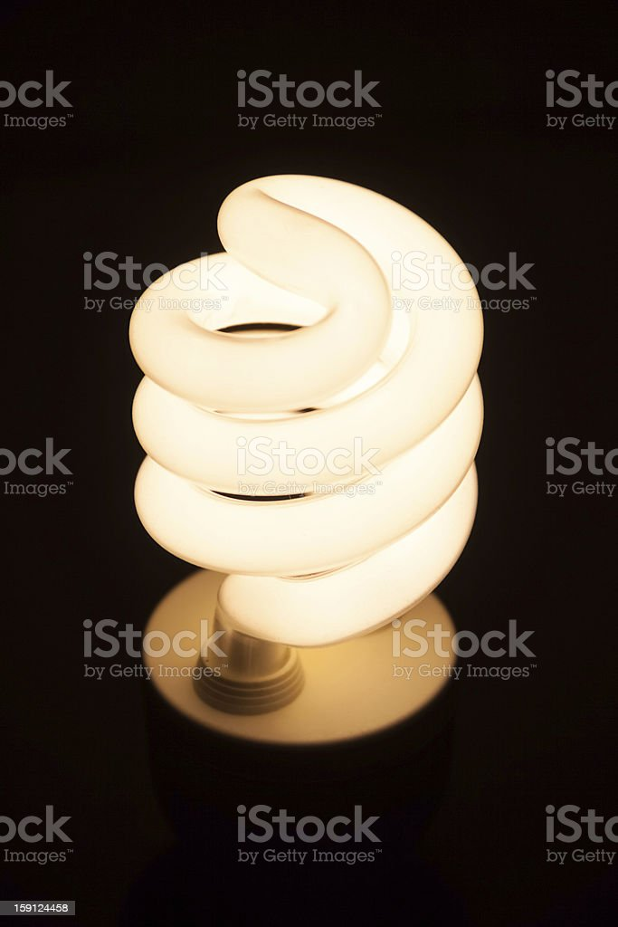 Low energy bulb royalty-free stock photo