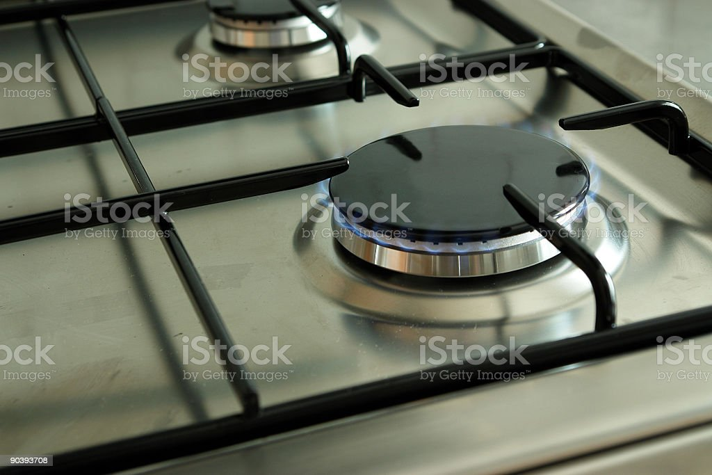 Low flame royalty-free stock photo