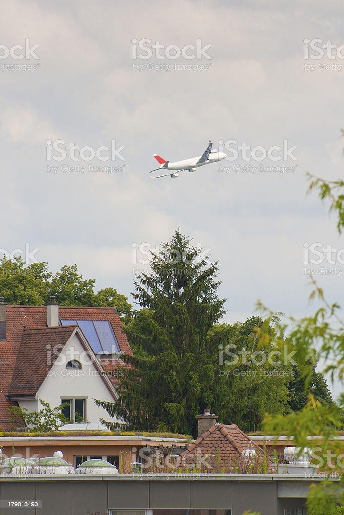 Low flight royalty-free stock photo