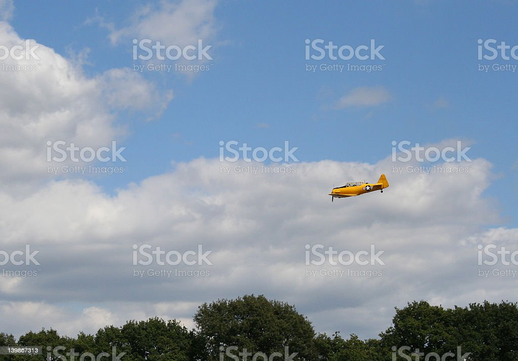 Low Flying US Fighter Aircraft stock photo
