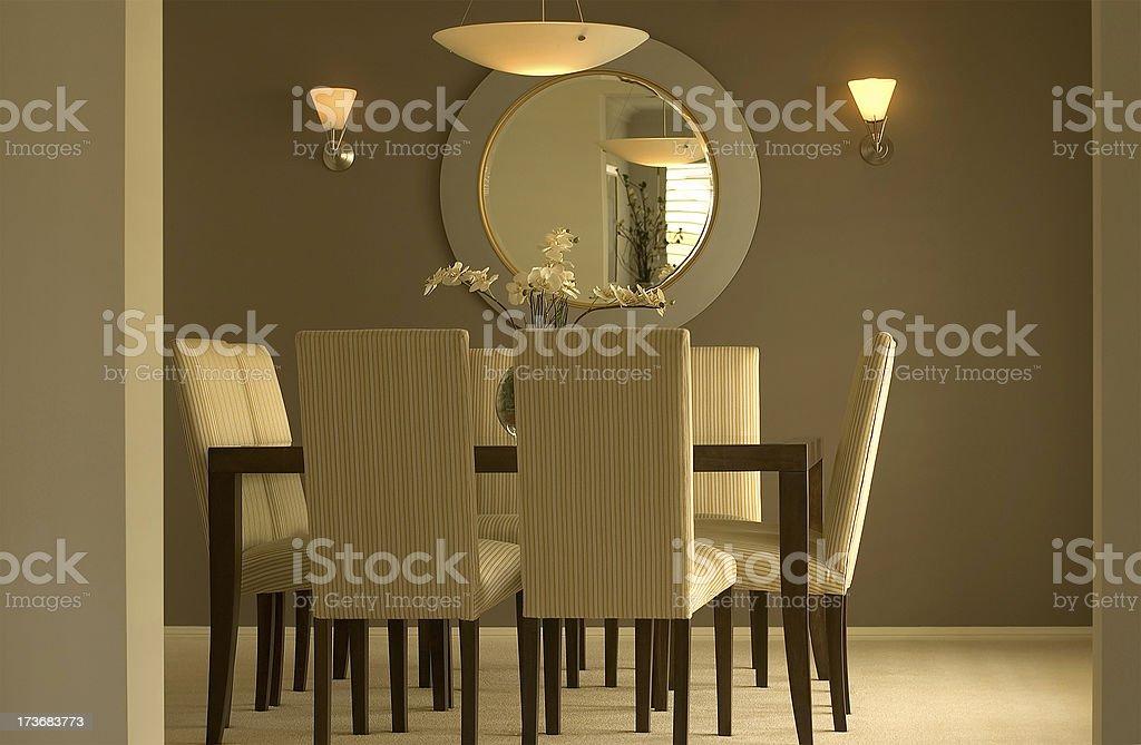 Low Key Dining stock photo