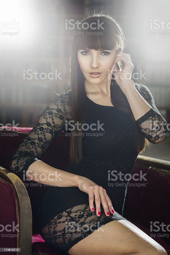Low Key Glamour image royalty-free stock photo