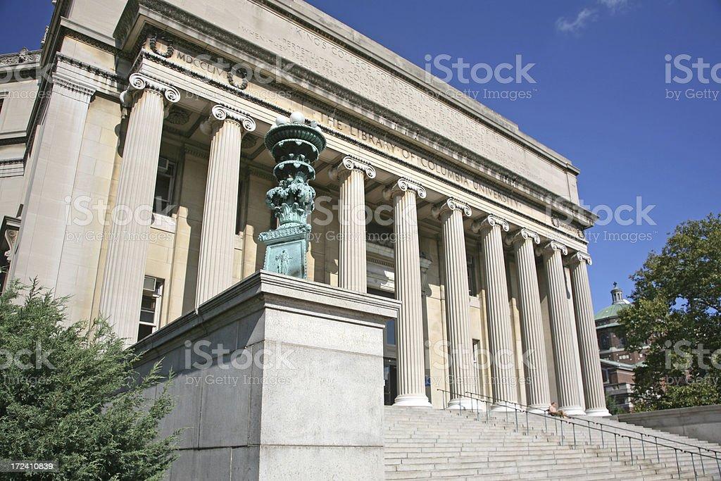 Low Memorial Library At Columbia University stock photo