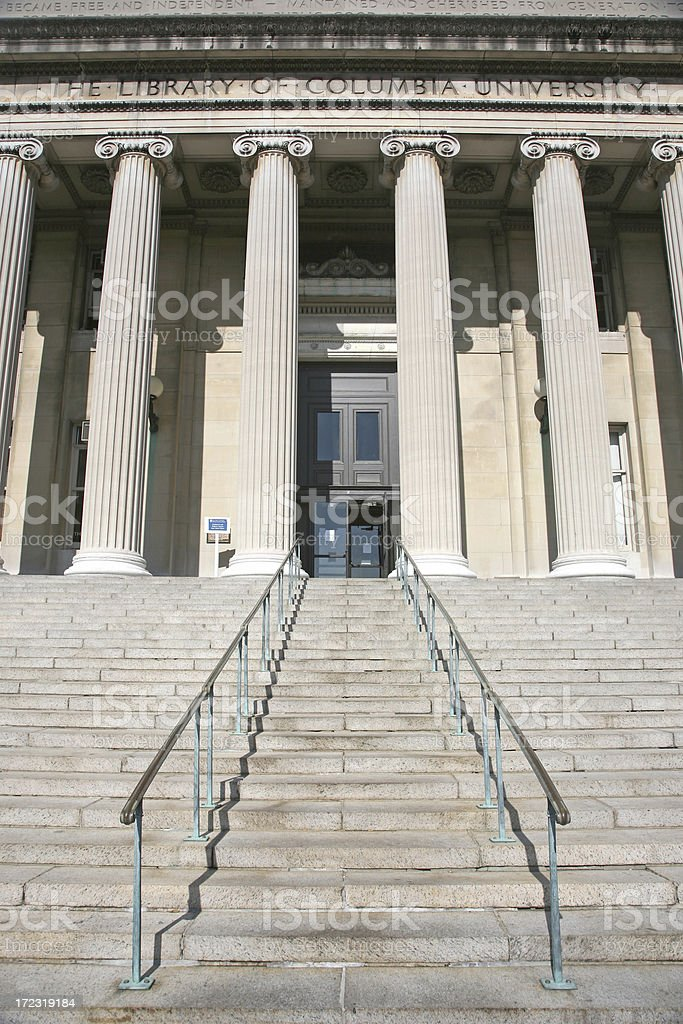 Low Memorial Library, Columbia University royalty-free stock photo