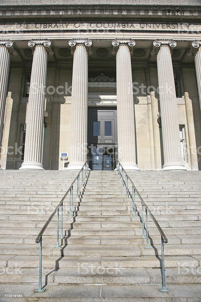 'Low Memorial Library, Columbia University' stock photo