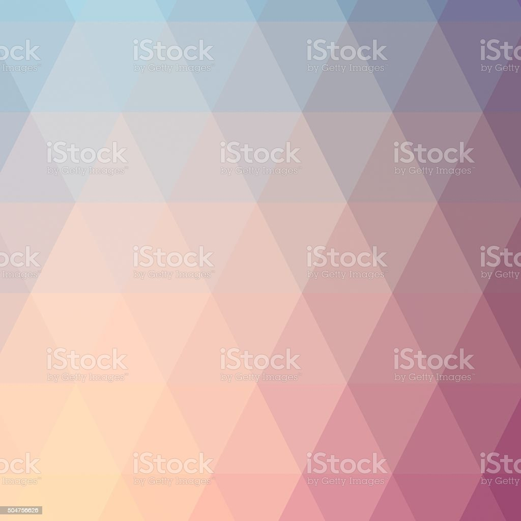 Low polygon Triangle Pattern Background stock photo