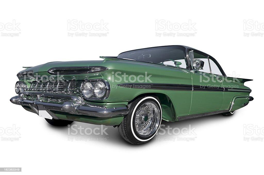 Low Rider Chevy Impala stock photo