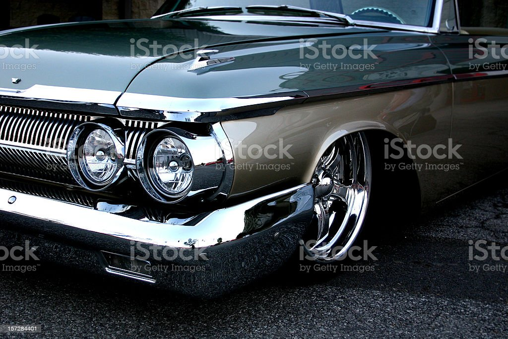 Low Sedan stock photo